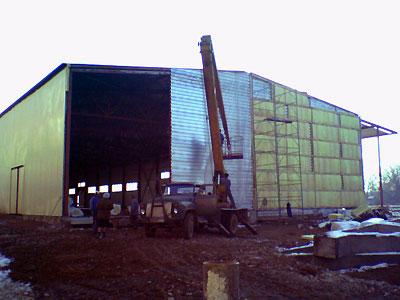 Изготовление металлоконструкции для Караваевской бумажной фабрики